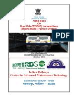 Handbook on WDP4D(Dual Cab Loco)