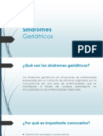 Síndromes geriatricos