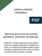 Fenomenul violentei domestice