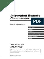 AX4000 Manual