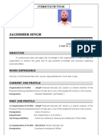 JAGDISHER CV
