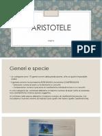 Logica Aristotelica - Slides