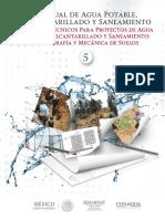 5.- Estudios Técnicos Para Proyectos de Agua Potable, Alcantarillado y Saneamiento Topografía y Mecánica de Suelos