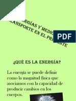 Energías y Transporte en El Presente