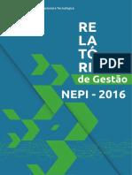 Relatorio Gestao Nepi 2016.PDF