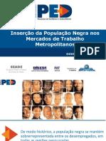 Relatório DIEESE Trabalho População Negra 2016