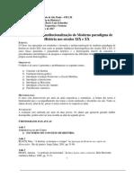 USP. Medologia I. Provisorio