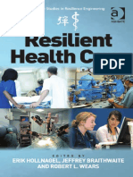 Resilient Health Care (2013)