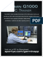 g 1000 Trainer Manual