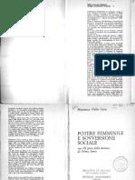 DALLA COSTA, Mariarosa - Potere Femminile e Sovversione Sociale - Marsilio (1977)