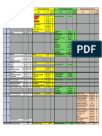 Dental Decks 14-Day Schedule (2013-14)