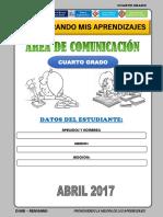COMUNICACIÓN  4° ABRIL