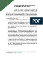 PROYECTO DE NUEVA LEY DE CONTRATACIONES DEL ESTADO