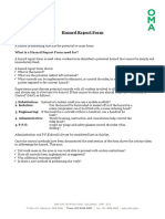 300230290 Hazard Report Form