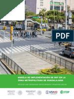Modelo de Implementación de DOT en La Zona Metropolitana de Guadalajara
