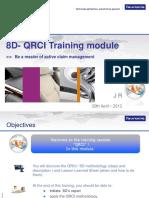 Training Module 8D QRCI