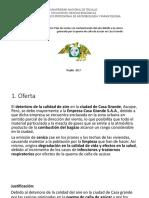 Proyecto de Gestion Ambiental- Proyecto Contaminación ambiental