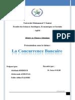 La Concurrence Bancaire -- Technique Bancaire - MS FI 2016-2017