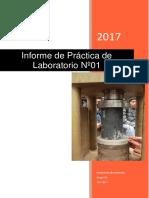 Informe de Laboratorio de Resistencia de Materiales 2017 - 0