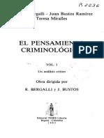 BELM-21835(El Pensamiento Criminológico Un -Bergalli)