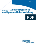 MPLS - An Introduction (Nortel Networks)