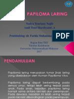 Slide Papiloma Laring