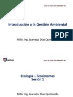 Introducción a La G. Ambiental