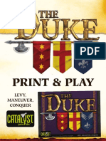 The Duke Print and Play