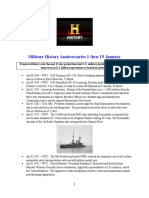 Military History Anniversaries 0101 Thru 011516