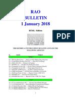 Bulletin 180101 (HTML Edition)