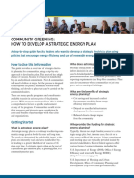 How to Develop a Strategic Energy Plan
