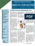 Diocesan Newsletter (November - December 2017)