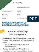 Chap 12 Leaderhip Ob