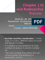 Nuclear Medicine Nuclides and Radioactive. Chapter 2