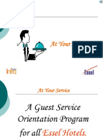 AT YOUR SERVICE &VALUES( orentation programe).ppt