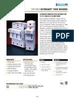 Ultra Safe Fuse Holders Us14-Us22 Portafusible