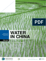 Water in China- Issues for Responsible Investors Feb2010