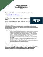 BSU101 Policies Fall 2010