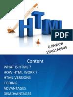 HTML PPT