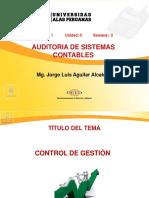 Ayuda 3 y 4 Auditoria de Tecnologia de Informacion