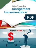 Risk Management Implementation
