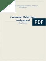 Case Study Consumer Behaviour