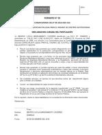 Declaracion Jurada IGSS 2016