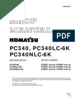 PC340, PC340LC-6K, PC340NLC-6K Hydraulic Excavator Shop manual.pdf