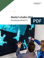 Master's Studies 2017