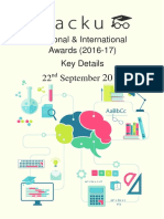 National and International Awards 2017 PDF