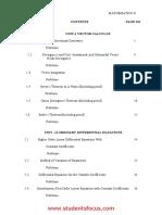 MA6251Mathematics.ii Notes 2013 Regulation