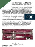 Olds Trumpet Models