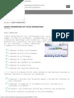 Audit marketing - I.B.B.C agence conseil agréée en communication