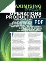 Maximising Pygas Operations Productivity (1)